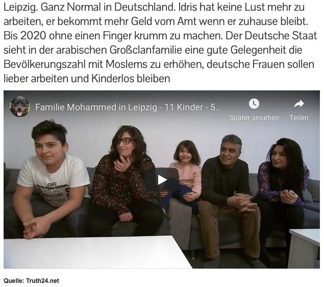 Wieder verbreitet eine Webseite ein verkürztes Video und diffamierende Behauptungen über eine syrische Familie