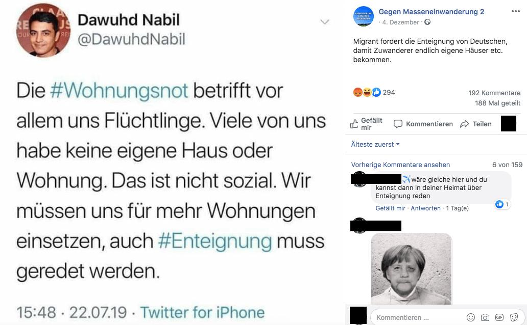 Dieser Twitter-Account gibt sich als syrischer Flüchtling aus