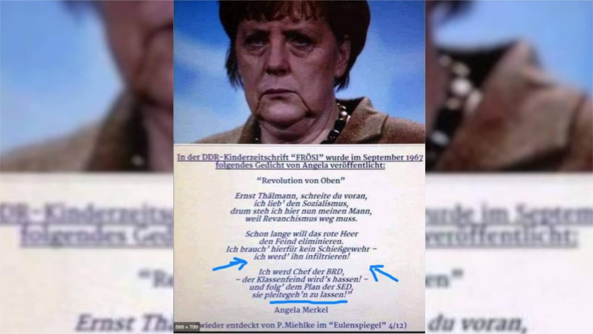 Merkel Frösi