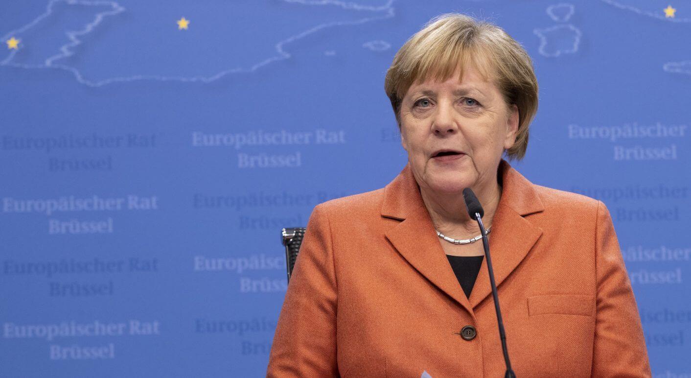 Belgium, Brussels: German Chancellor Angela Merkel
