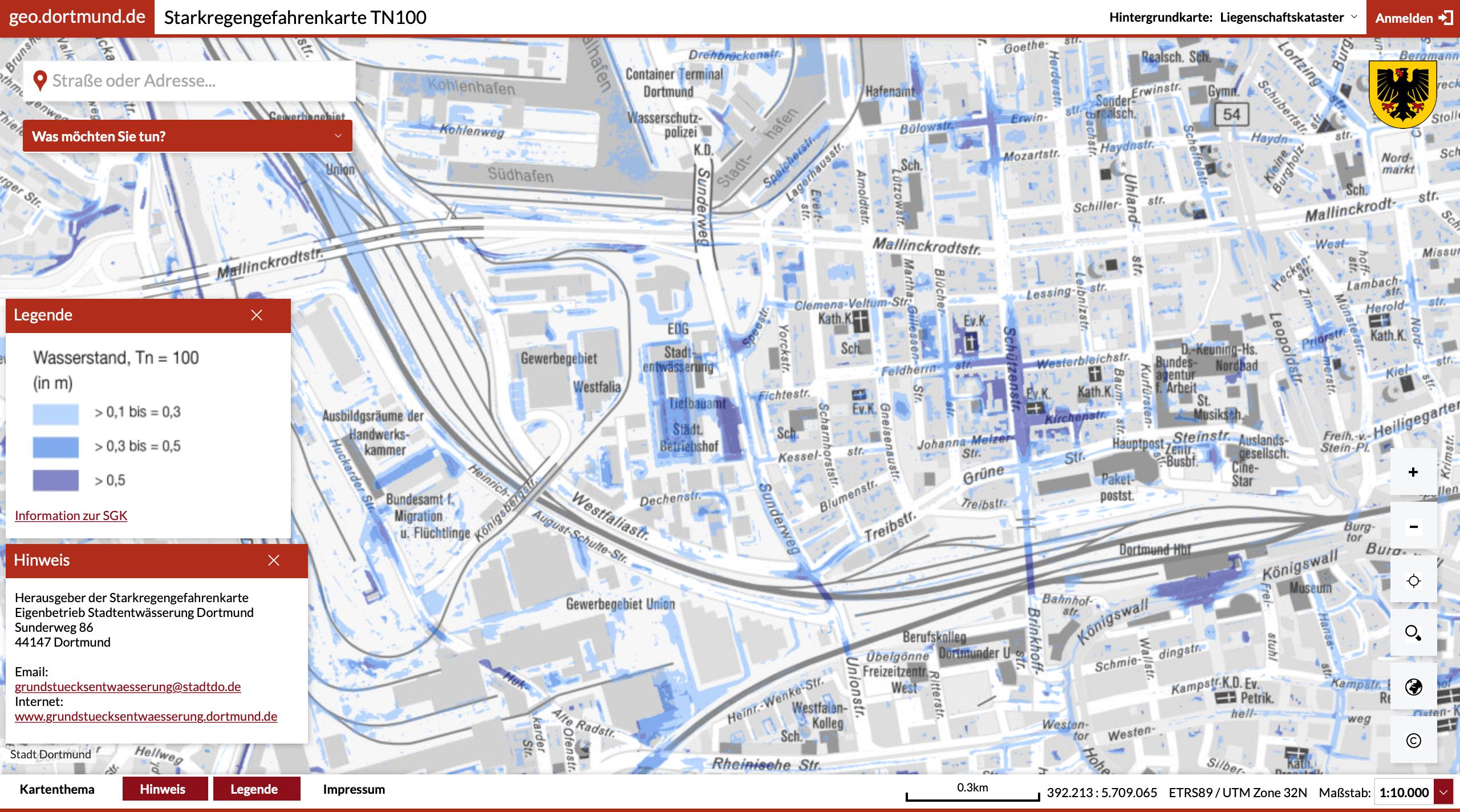 Starkregengefahrenkarten: Klimakrise drängt Kommunen zu mehr Transparenz