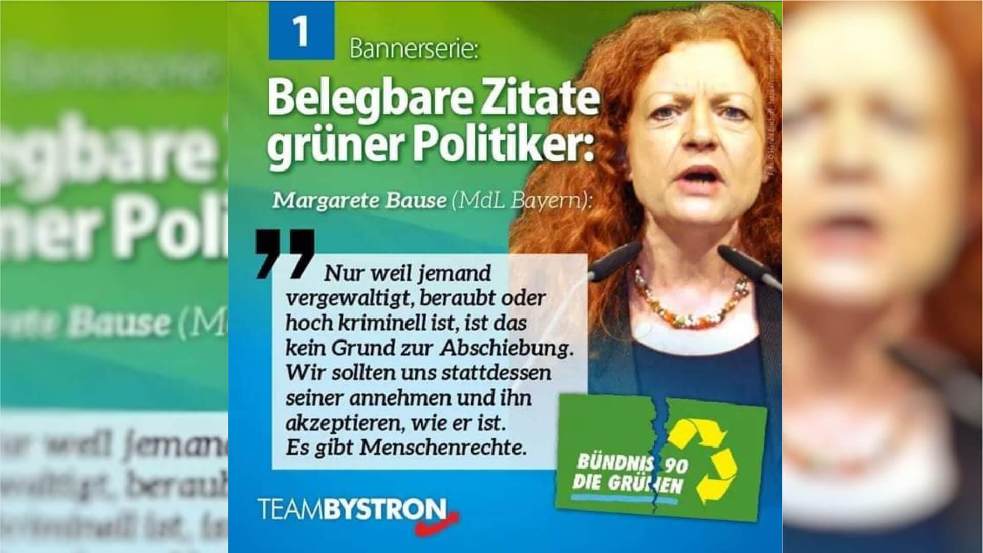 Zitat Margarete Bause (Bündnis 90/Grüne)
