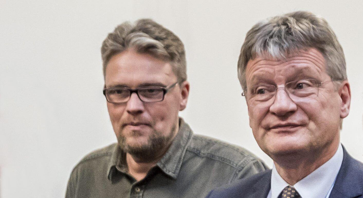 Die AfD-Politiker Guido Reil und Jörg Meuthen stehen im Fokus