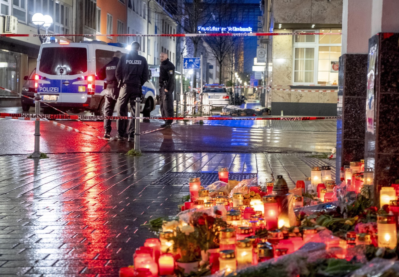 Hanau Anschlag Kerzen