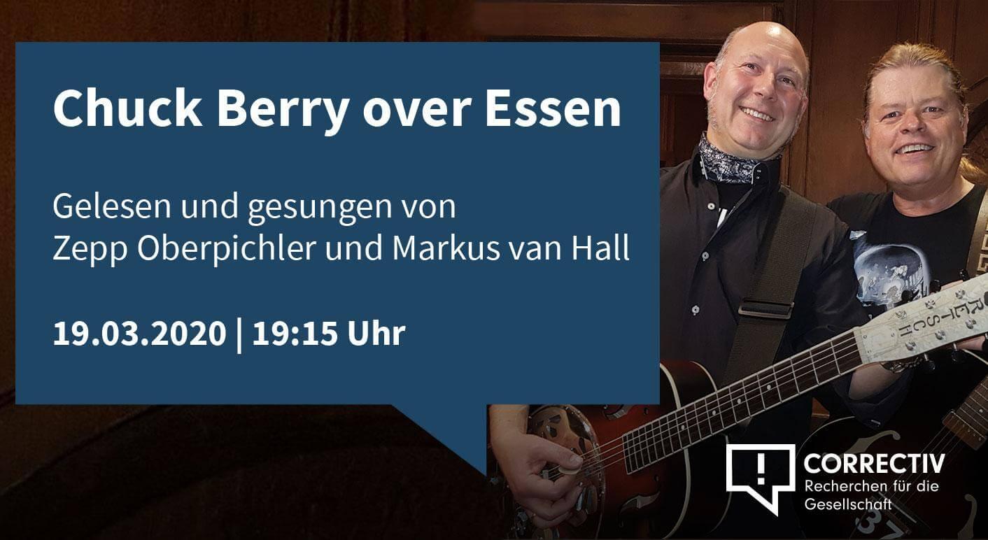 Chuck Berry over Essen