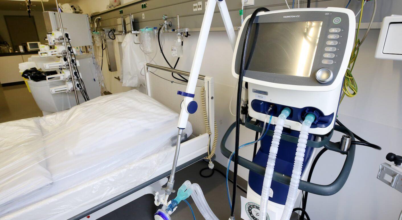 Beatmungsgerät im Krankenhaus