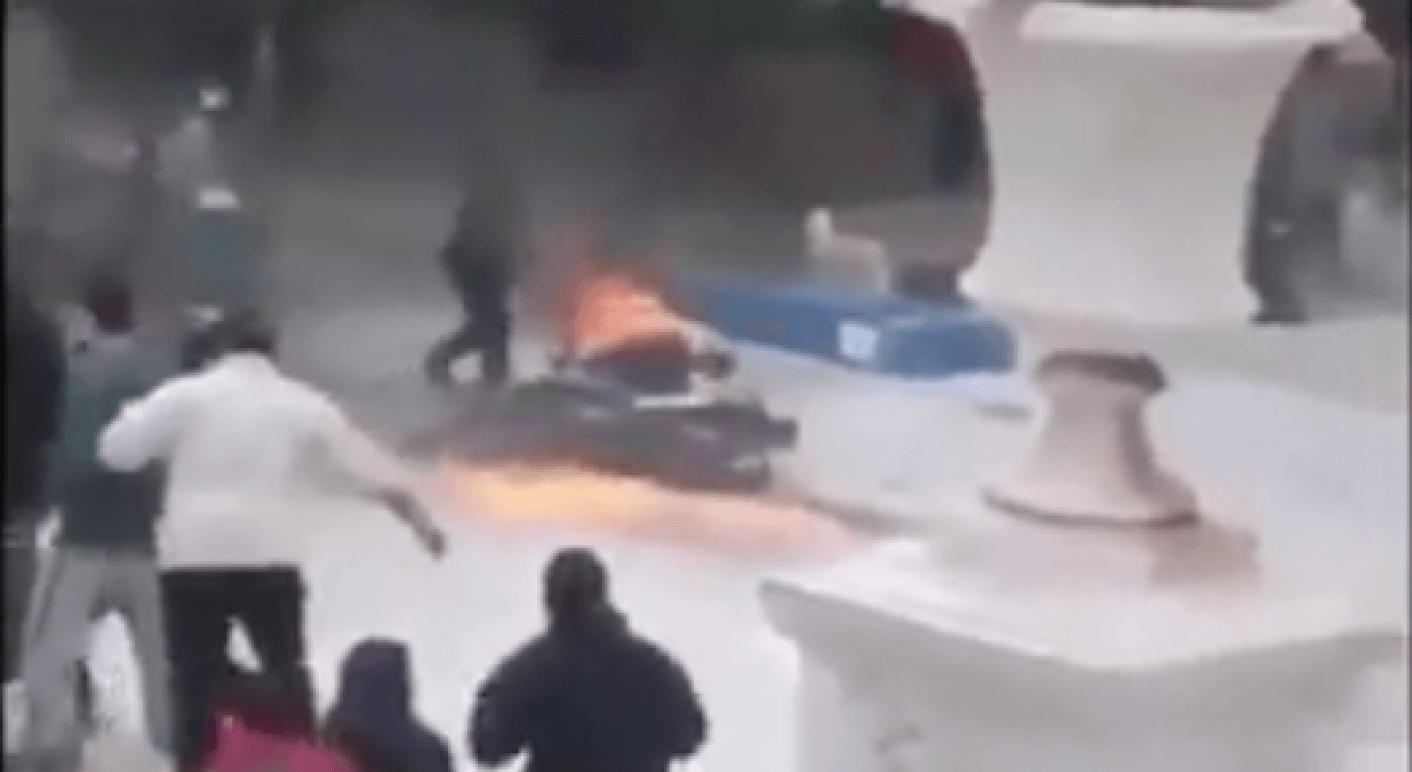 Griechenland Polizei Athen