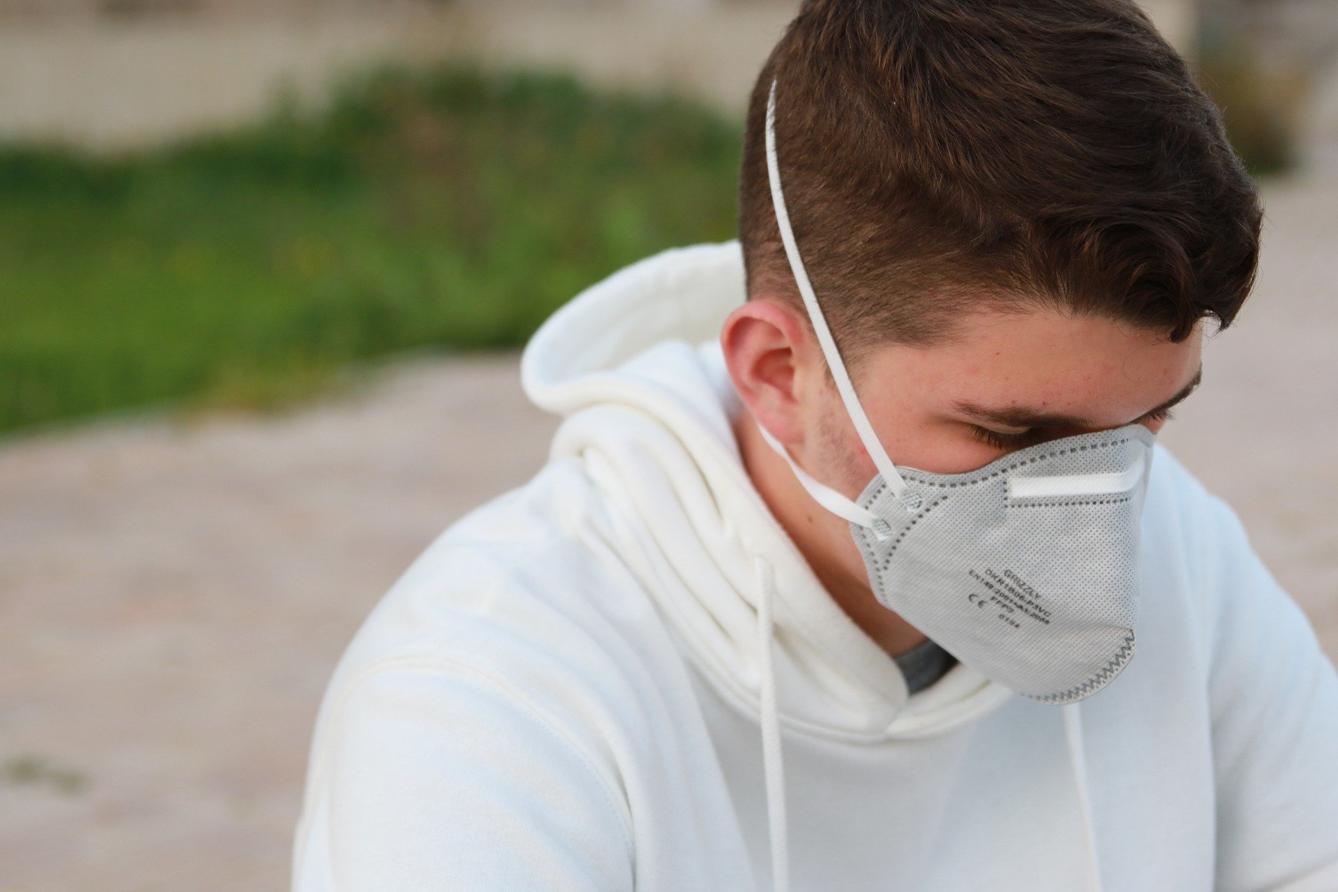 Schutzmaske gegen Coronavirus