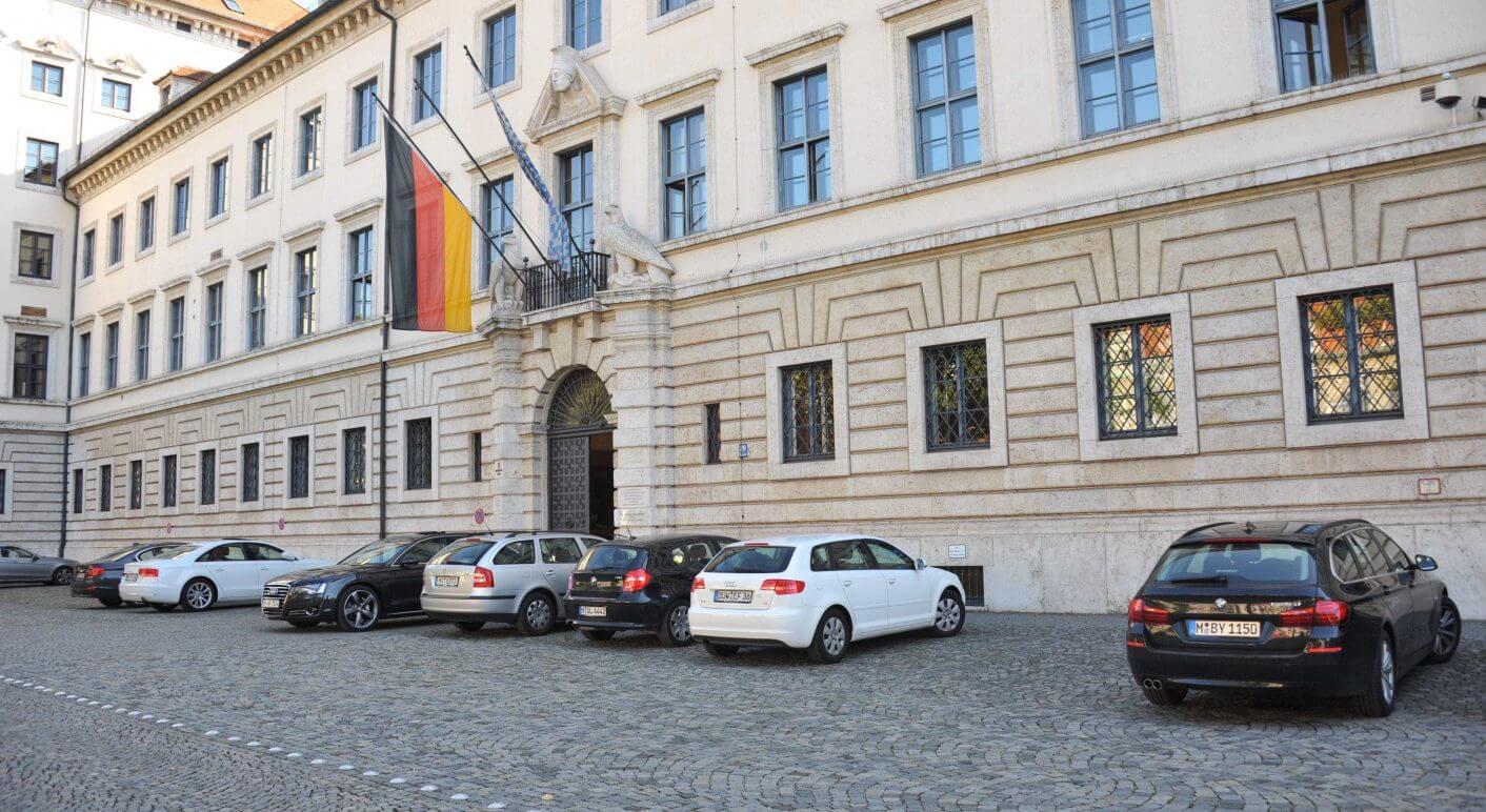 Bayerisches Wirtschaftsministerium in M¸nchen, 2013