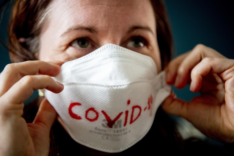 Female Coronavirus patient Female Coronavirus patient quarantined in The Hague, Netherlands - 17 Mar 2020