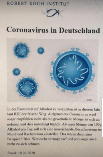 Nein, Alkohol zu trinken tötet das Coronavirus nicht ab
