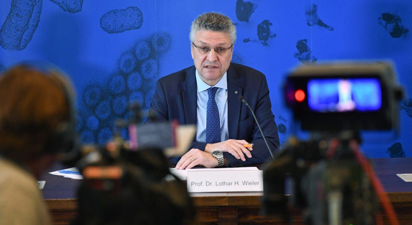 Coronavirus - Robert-Koch-Institut - Pressekonferenz