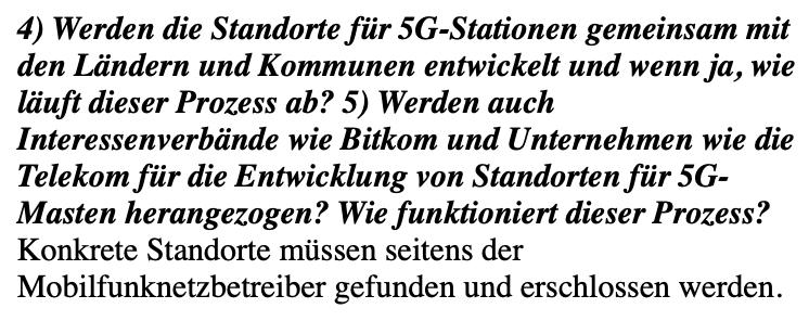 Keine Belege dafür, dass die Regierung heimlich 5G-Stationen ausbaut