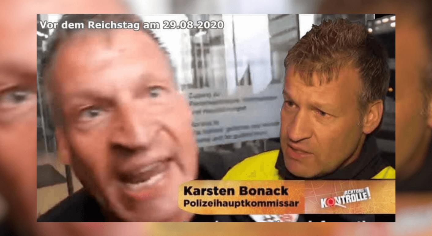 Polizeihauptkommissar Karsten Bonack ist kein Schauspieler, aber er war Protagonist in einer TV-Sendung.