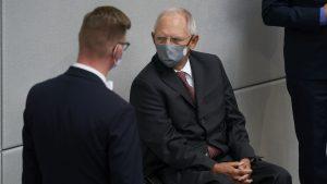 Ab 1. September gilt die dringende Empfehlung zum Tragen einer Mund-Nasen-Bedeckung in allen Liegenschaften des Deutschen Bundestages.
