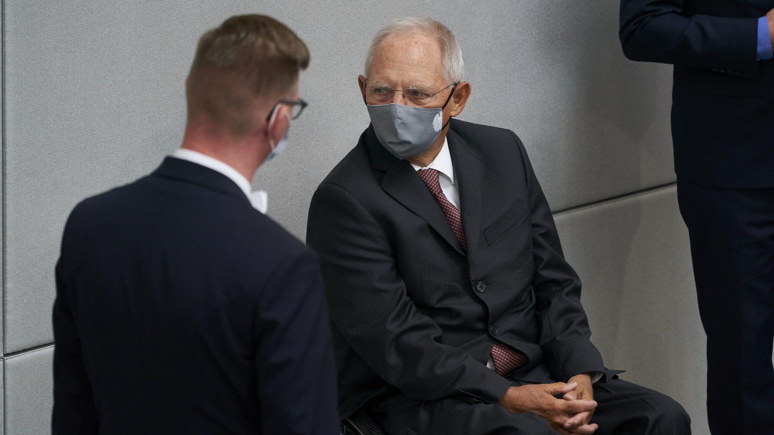 Maskenpflicht im Deutschen Bundestag