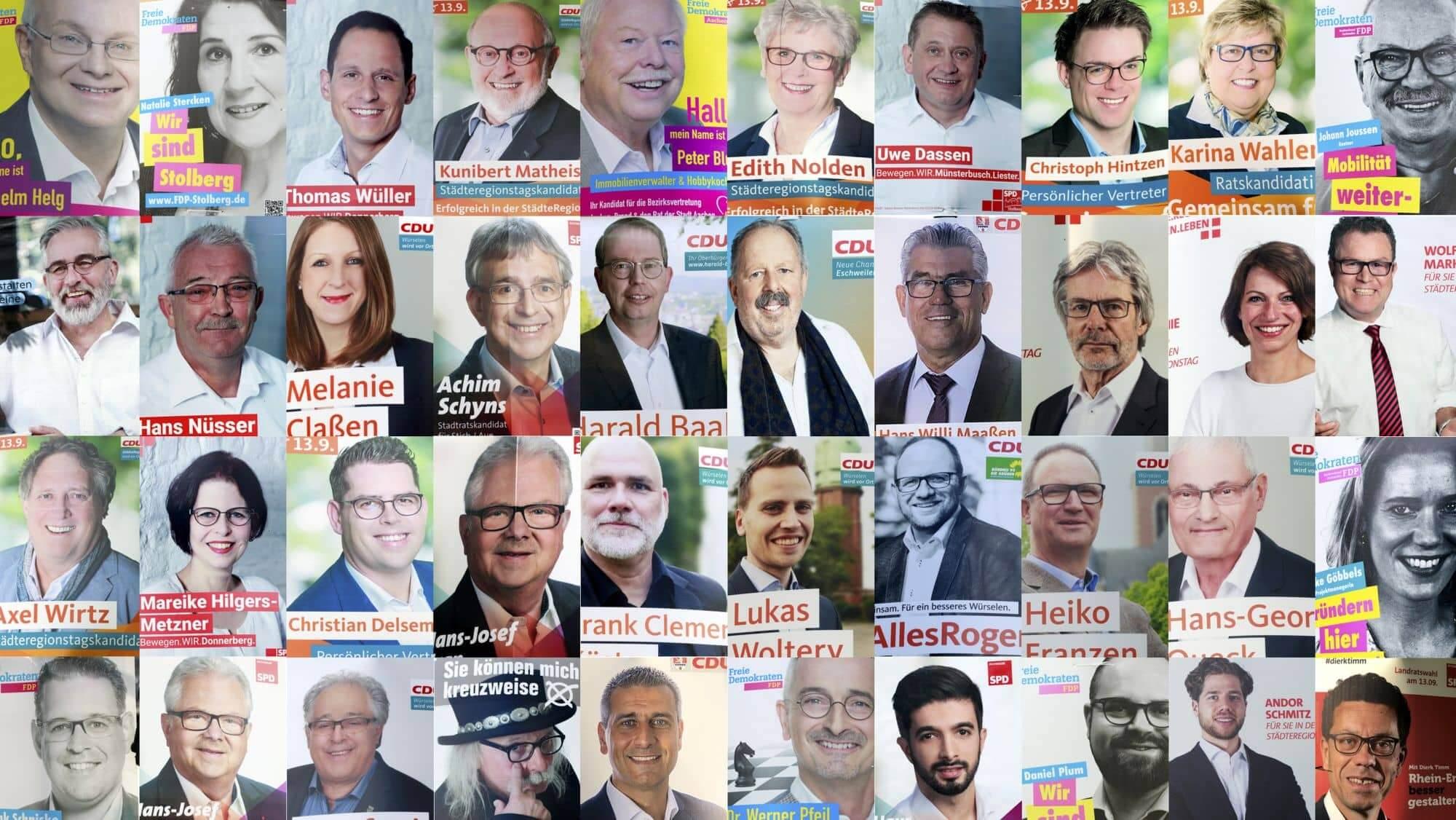 Kommunalwahl NRW Frauen