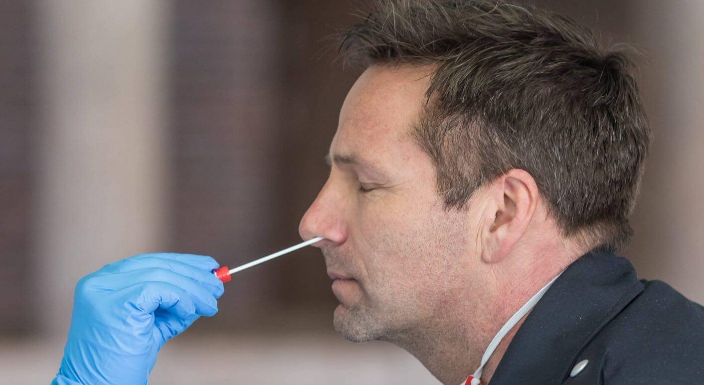 Infektionsschutzzentrum PCR-Test