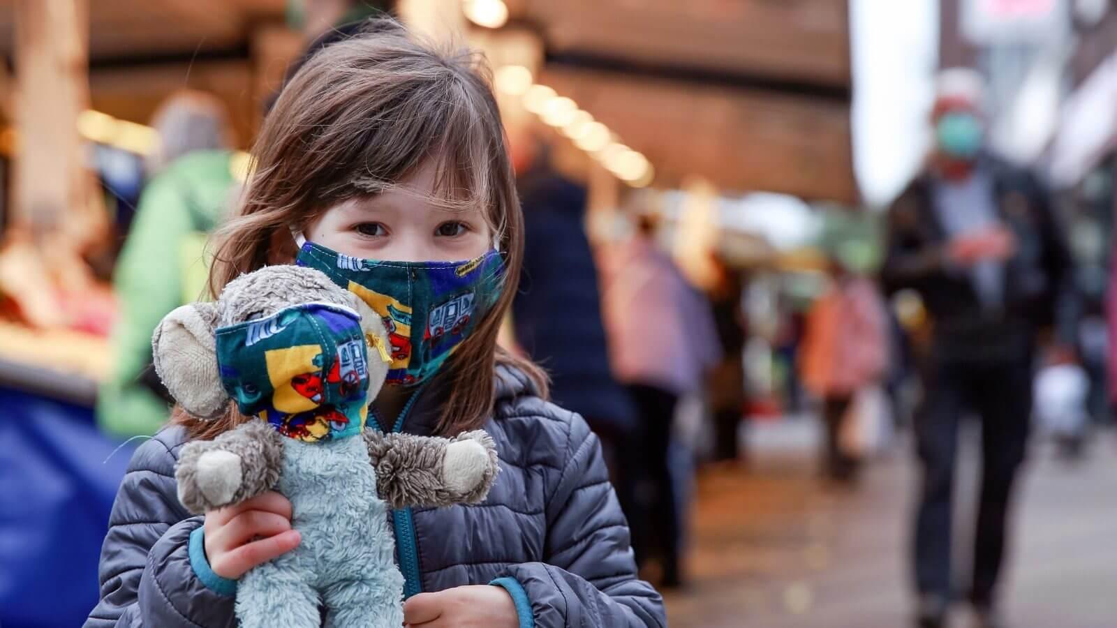 Wien: Keine Belege, dass Kinder mit Lungenpilzinfektion im Krankenhaus liegen, weil sie eine Maske trugen