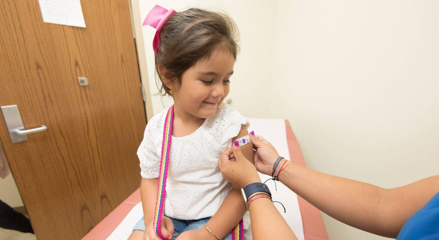 Impfung in der Schule