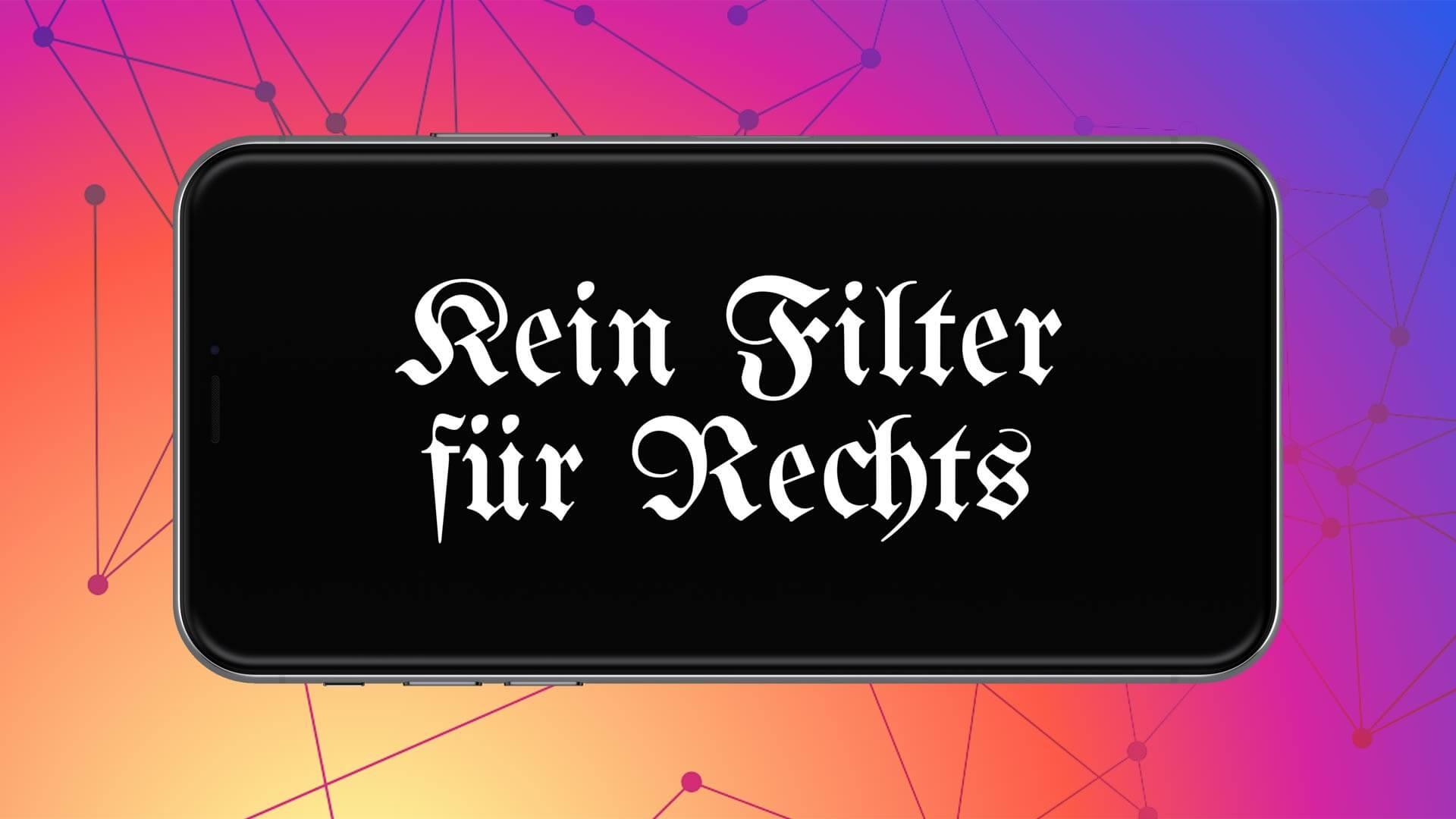 Kein Filter für Rechts