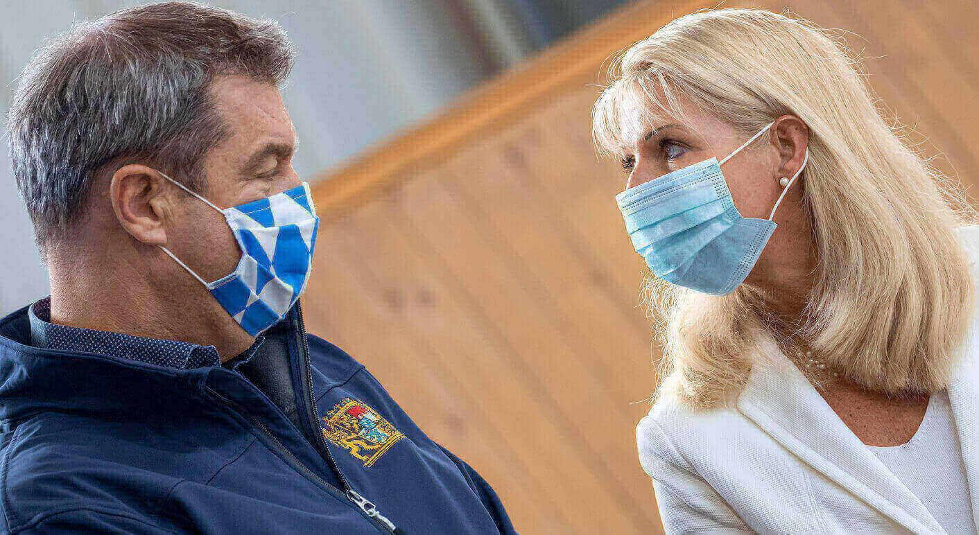 Karin Baumüller-Söder - Schirmherrschaft über berittene Polizei