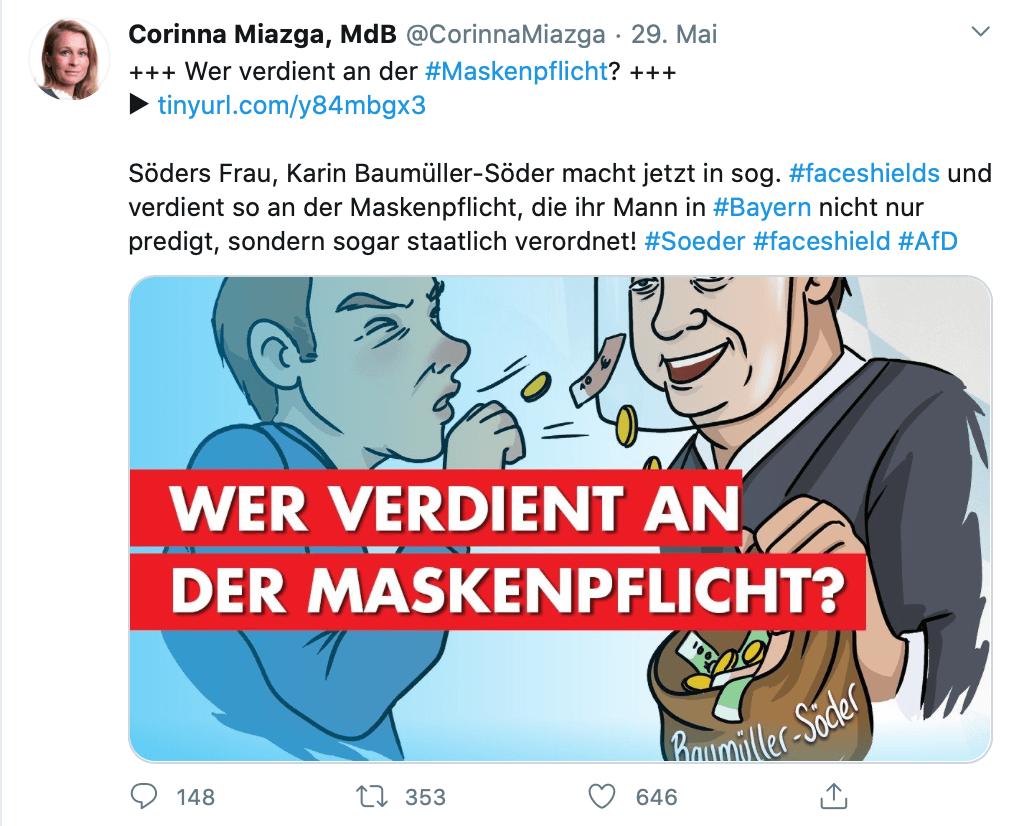 Karin Baumüller Masken