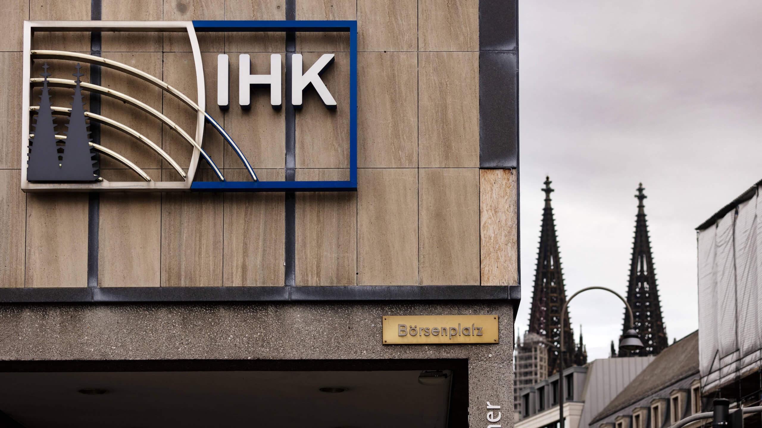 Nein, die IHK Köln hat im November keinen Empfang veranstaltet