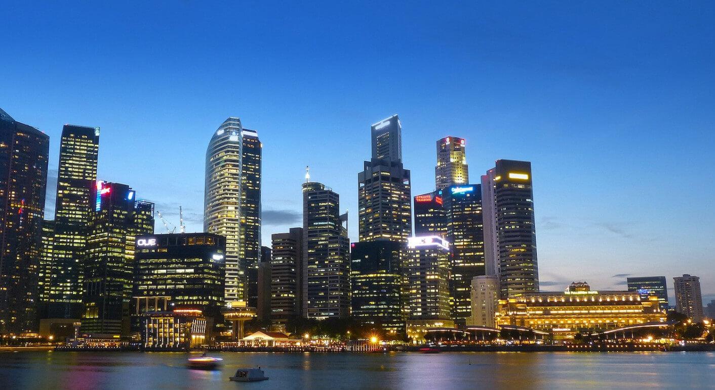 Symbolbild: Skyline von Singapur