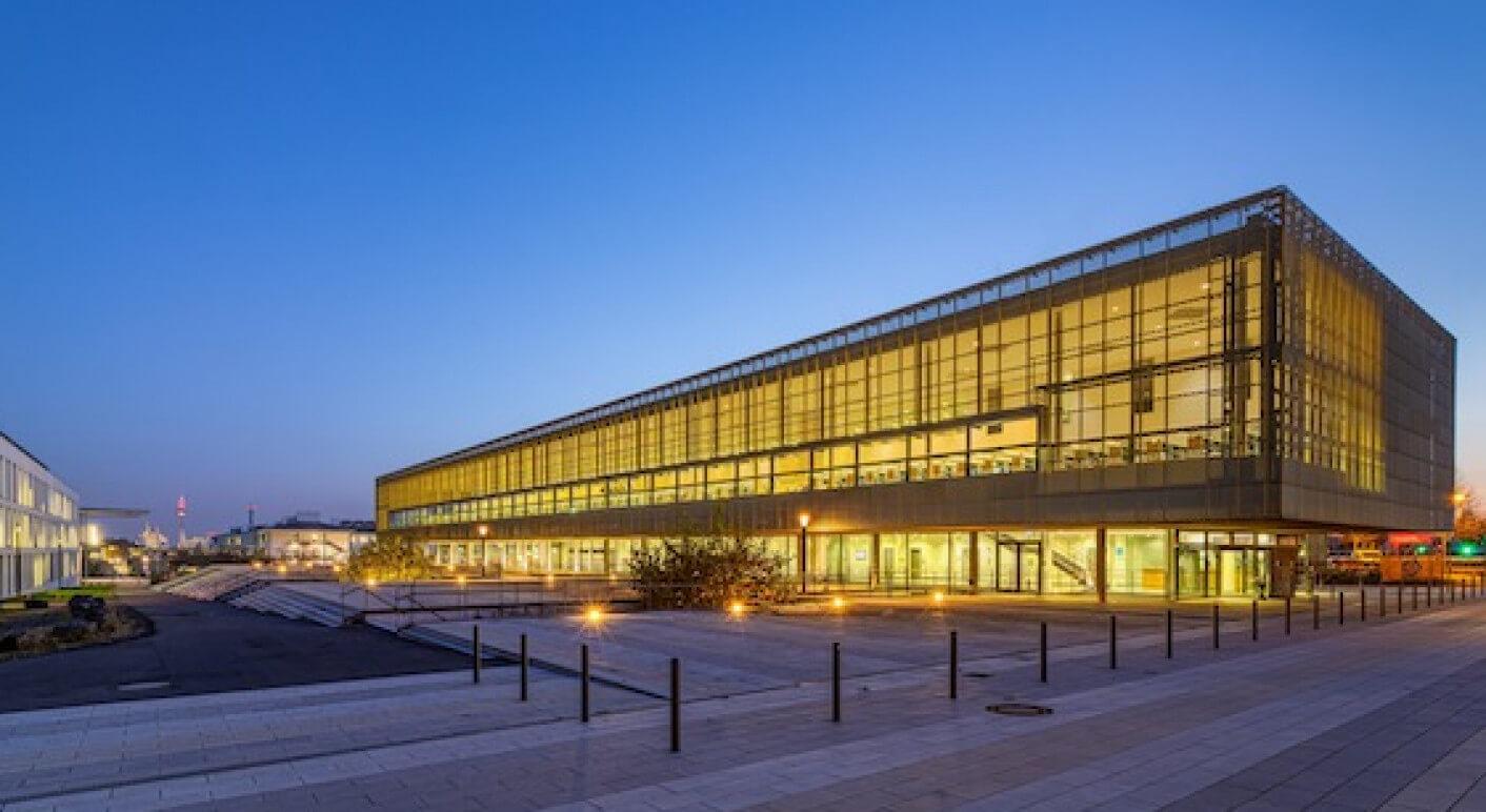 Das Otto-Stern-Zentrum der Goethe Universitaet in Frankfurt am Main