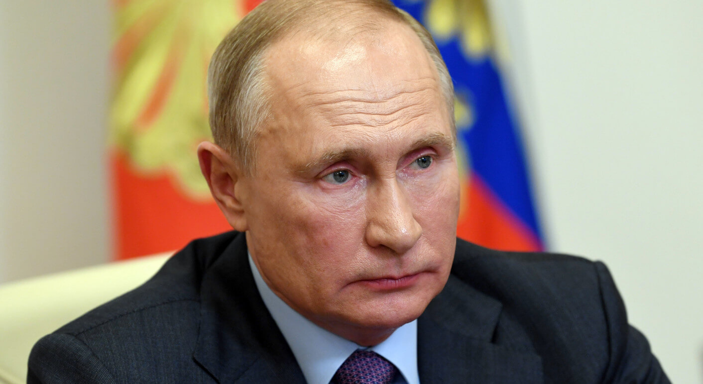 Russia's President Putin meets with representatives of disability