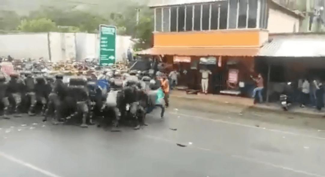 Dieses Video wurde nicht in den USA aufgenommen, sondern in Guatemala