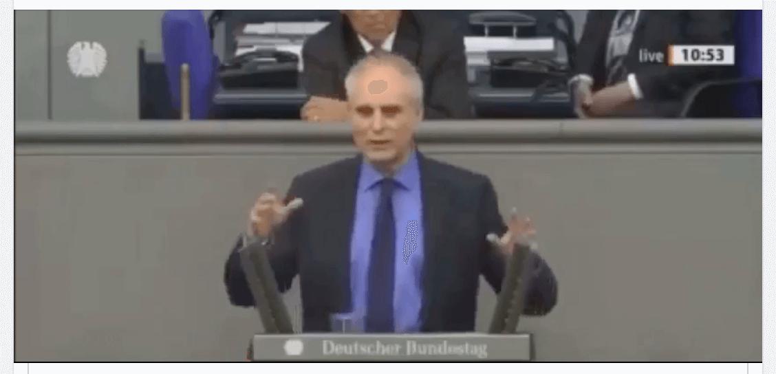 In diesem Video spricht kein Grünen-Politiker, sondern ein Abgeordneter der AfD