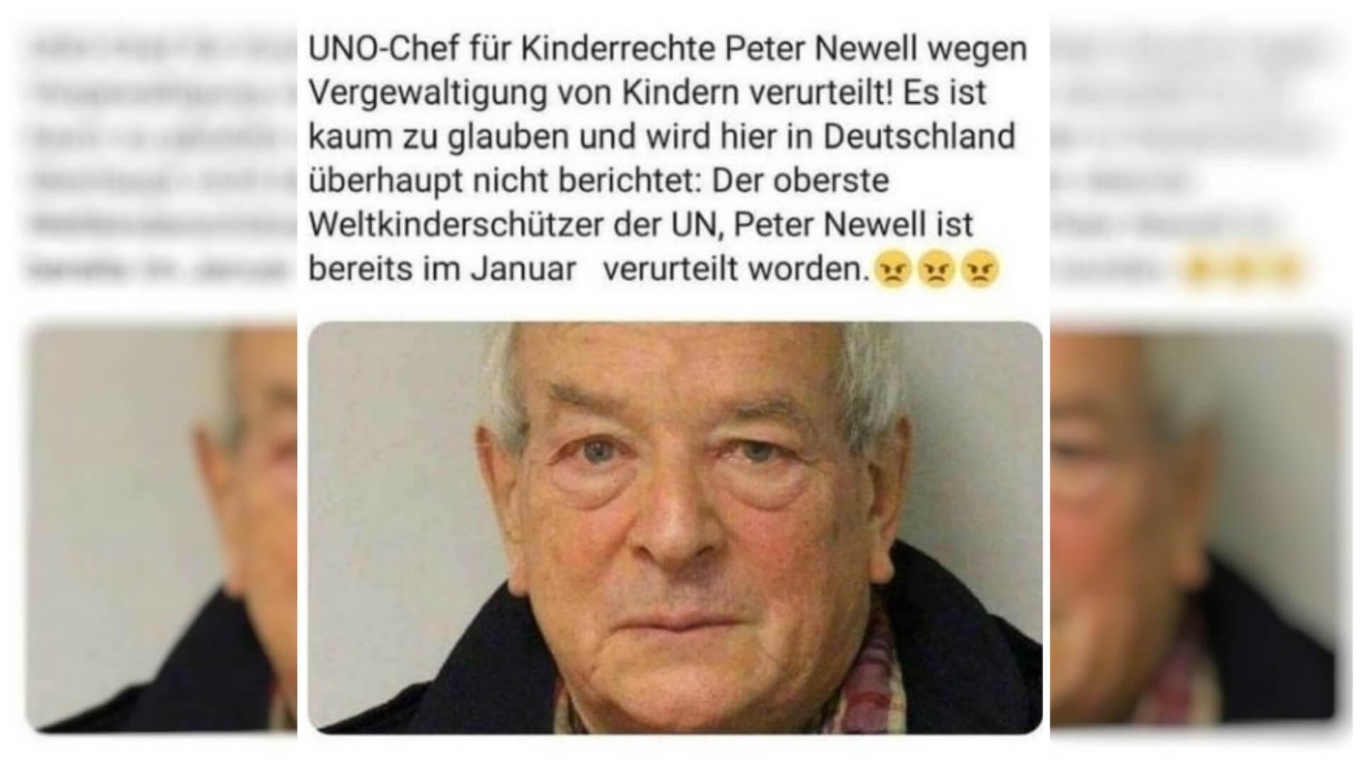 """Nein, der """"UNO-Chef für Kinderrechte"""" wurde nicht im Januar wegen Kindesmissbrauchs verurteilt"""