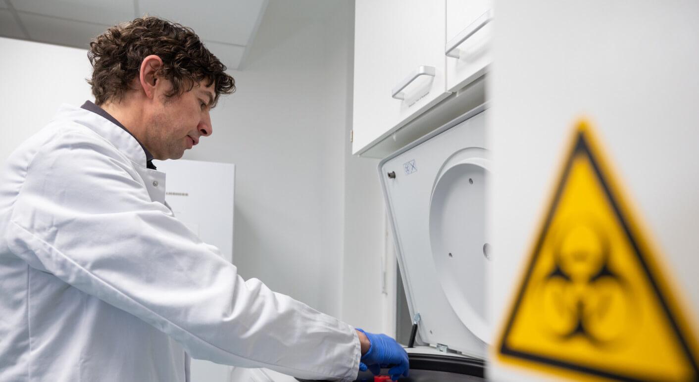 Untersuchungen zum Coronavirus in der Charité Berlin