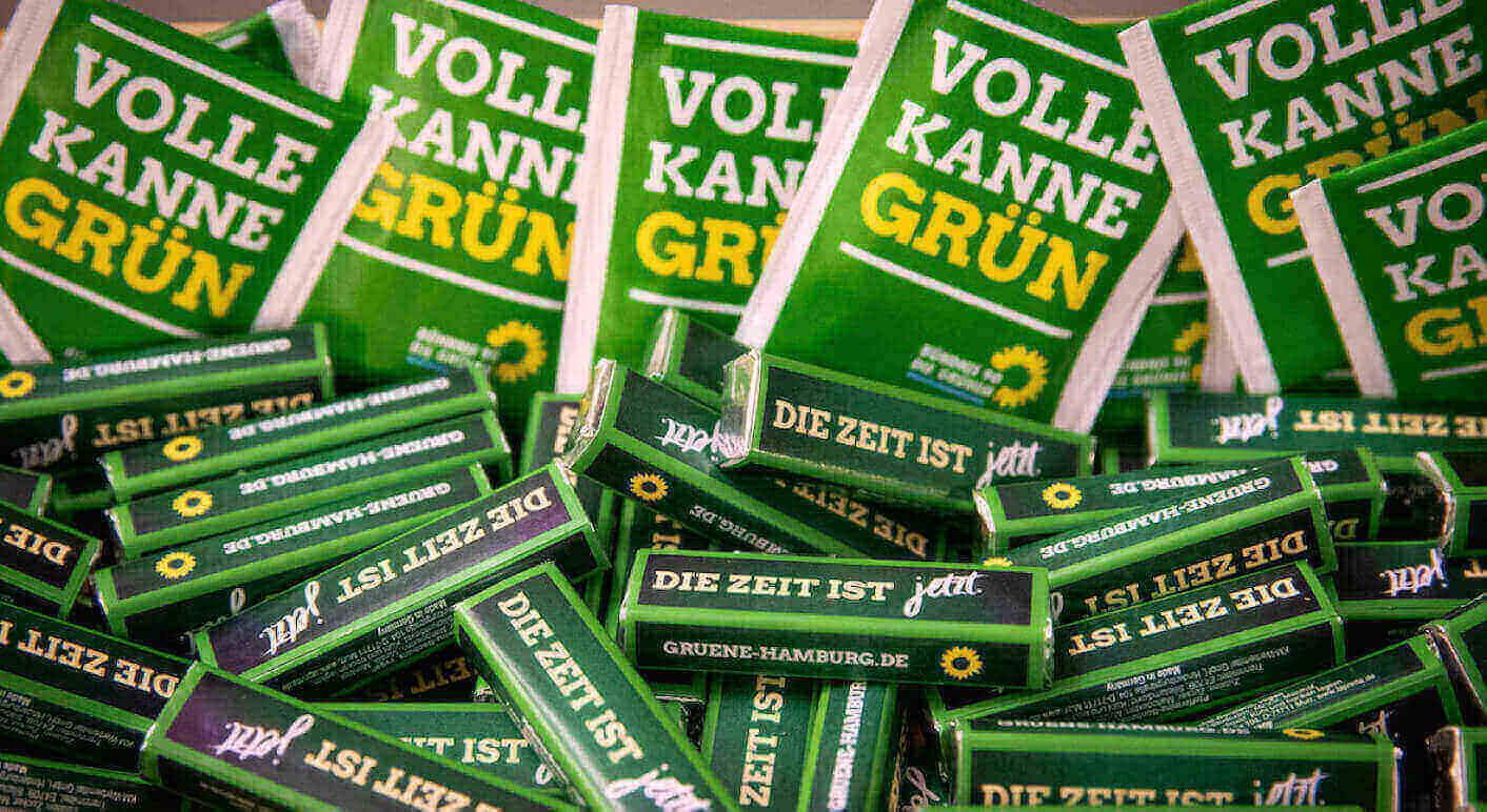 Wahlkampf mit Fegebank und Kretschmann