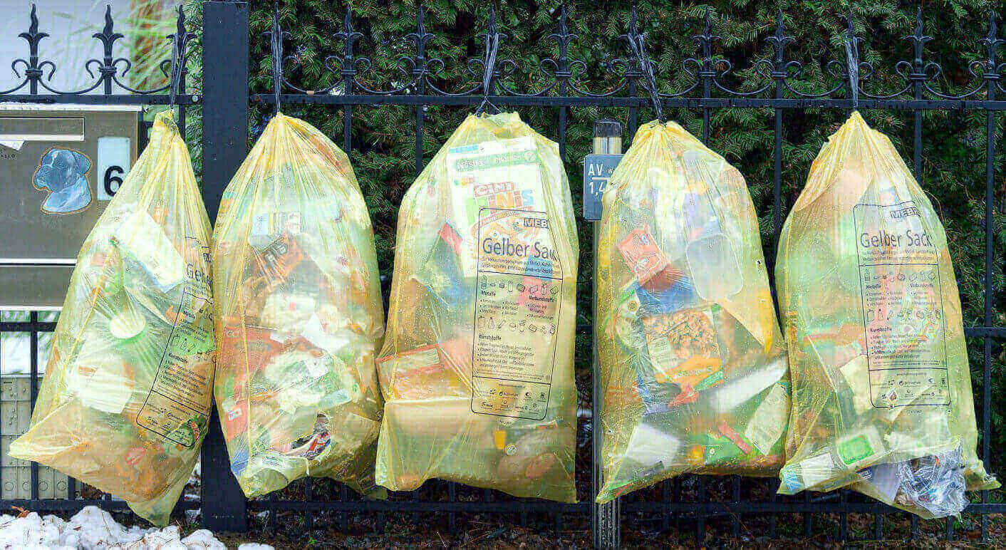 Der Gelbe Sack – für Plastikflaschen nur die zweitbeste Lösung