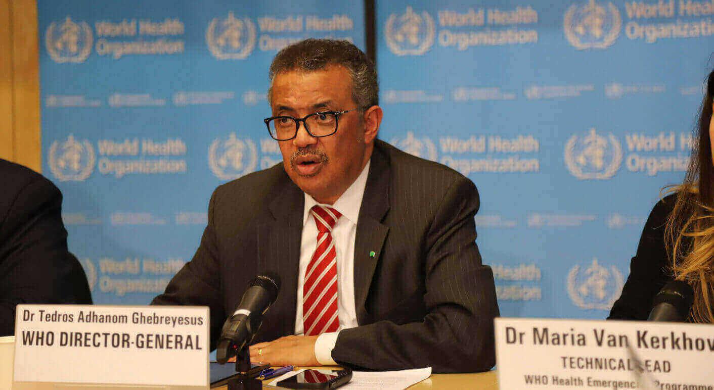 WHO-Generaldirektor Tedros Adhanom Ghebreyesus