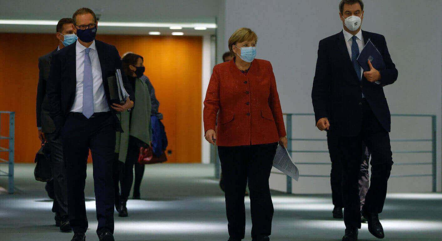 Das Bild, das der Screenshot verwendet, stammt vom 16.11.2020 und wurde von einem Fotografen für die DPA und AFP aufgenommen. (Quelle: Picture Alliance / DPA / AFP / POOL | Odd Andersen)