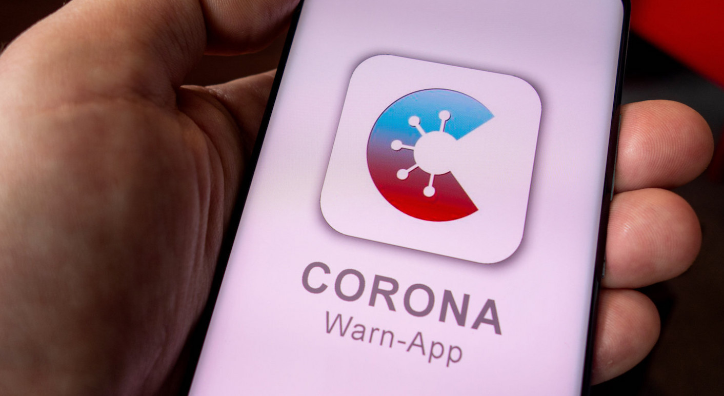 Symbolfoto Corona Warn-App