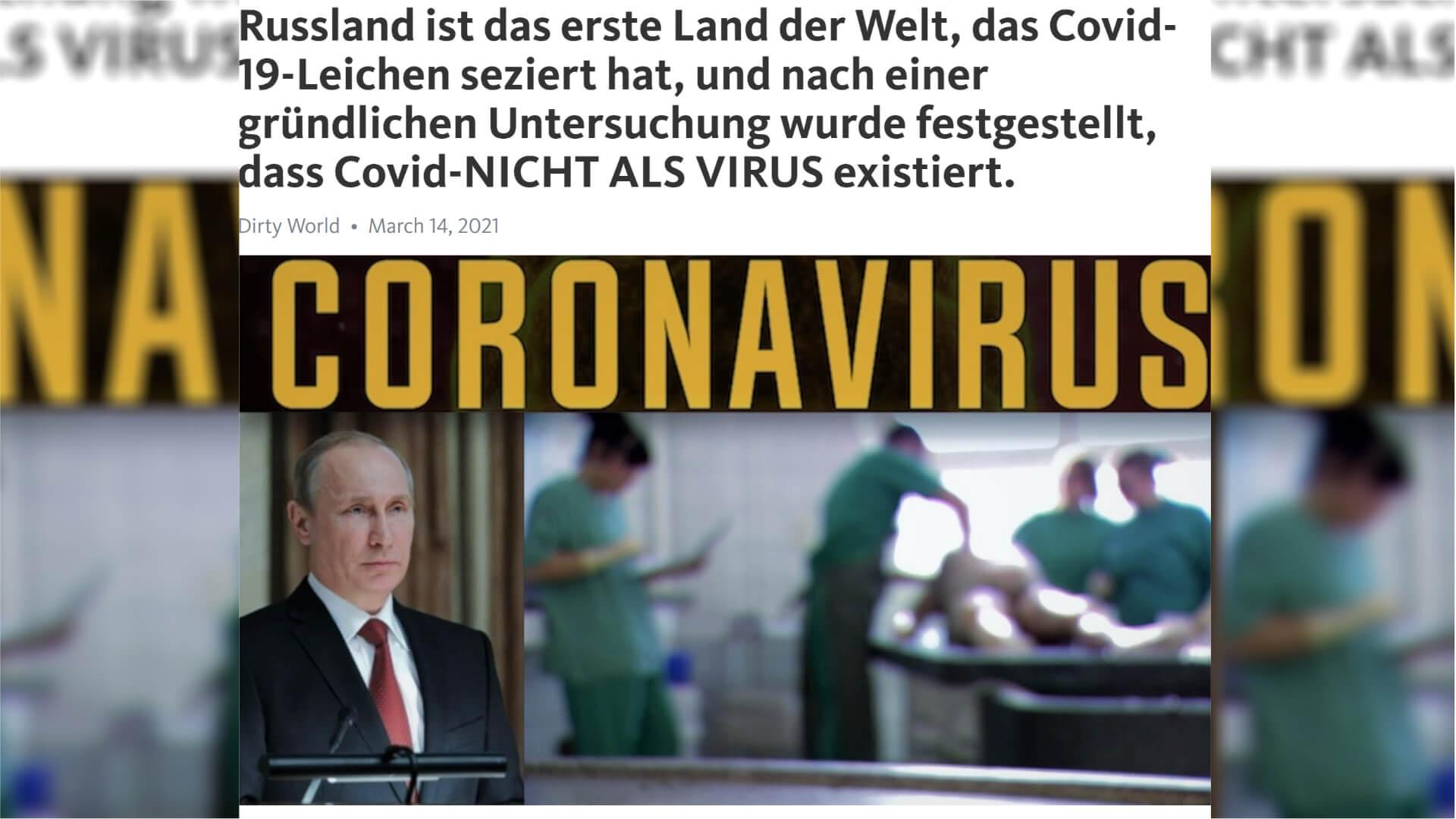 SARS-CoV-2 ist ein Virus, kein Bakterium