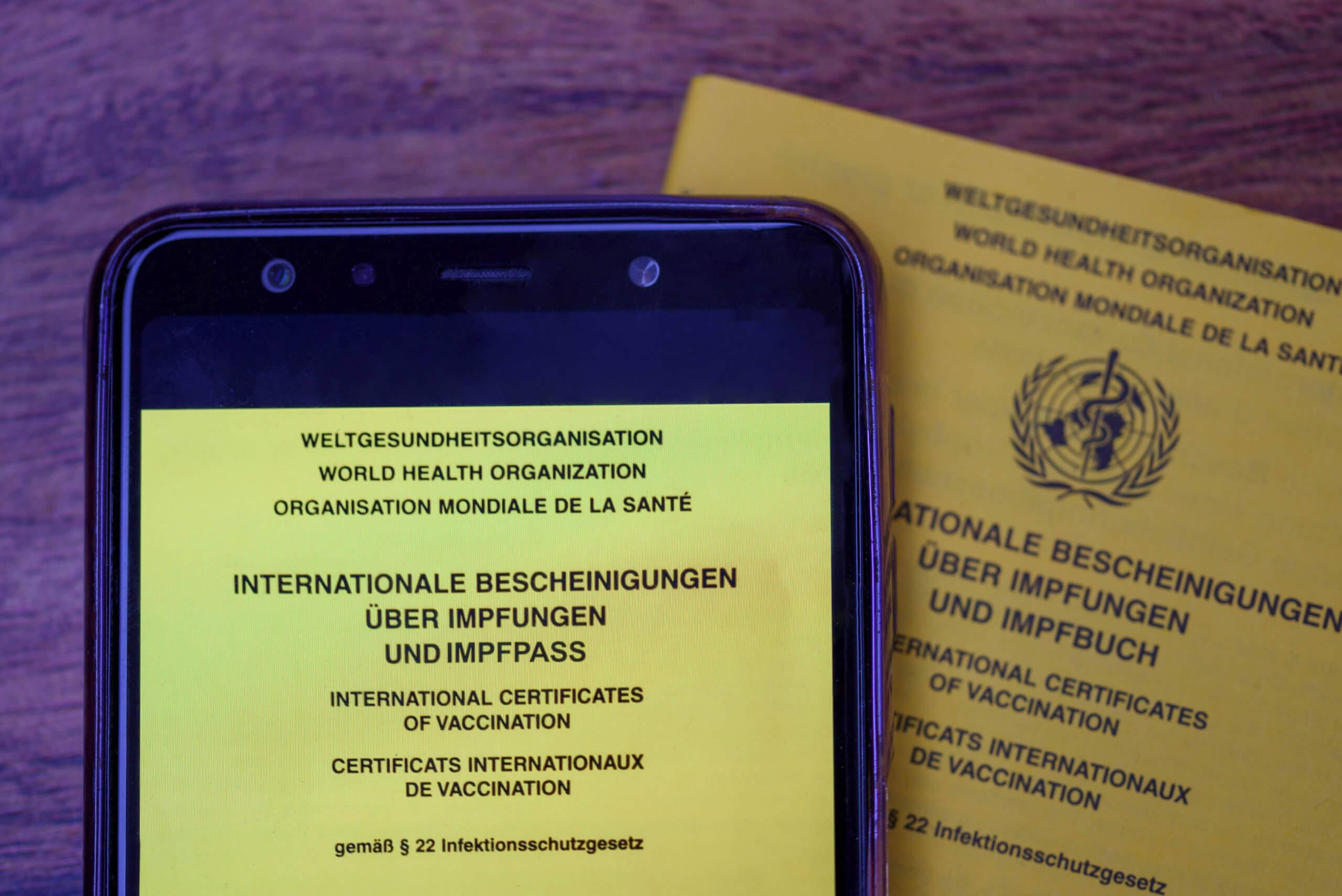"""Der """"digitale grüne Corona-Nachweis"""" ist etwas anderes als der EU-Impfpass"""