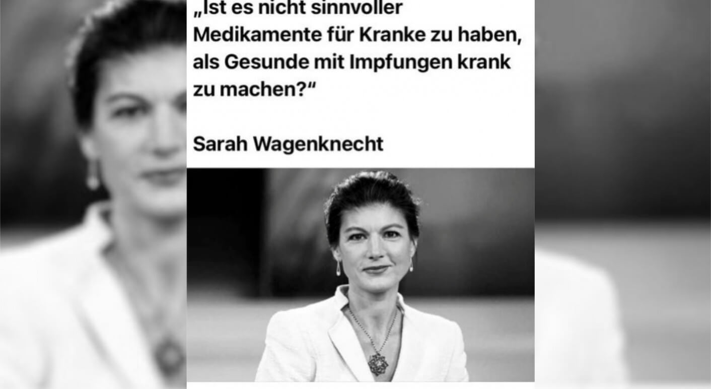 sahra wagenknecht collage
