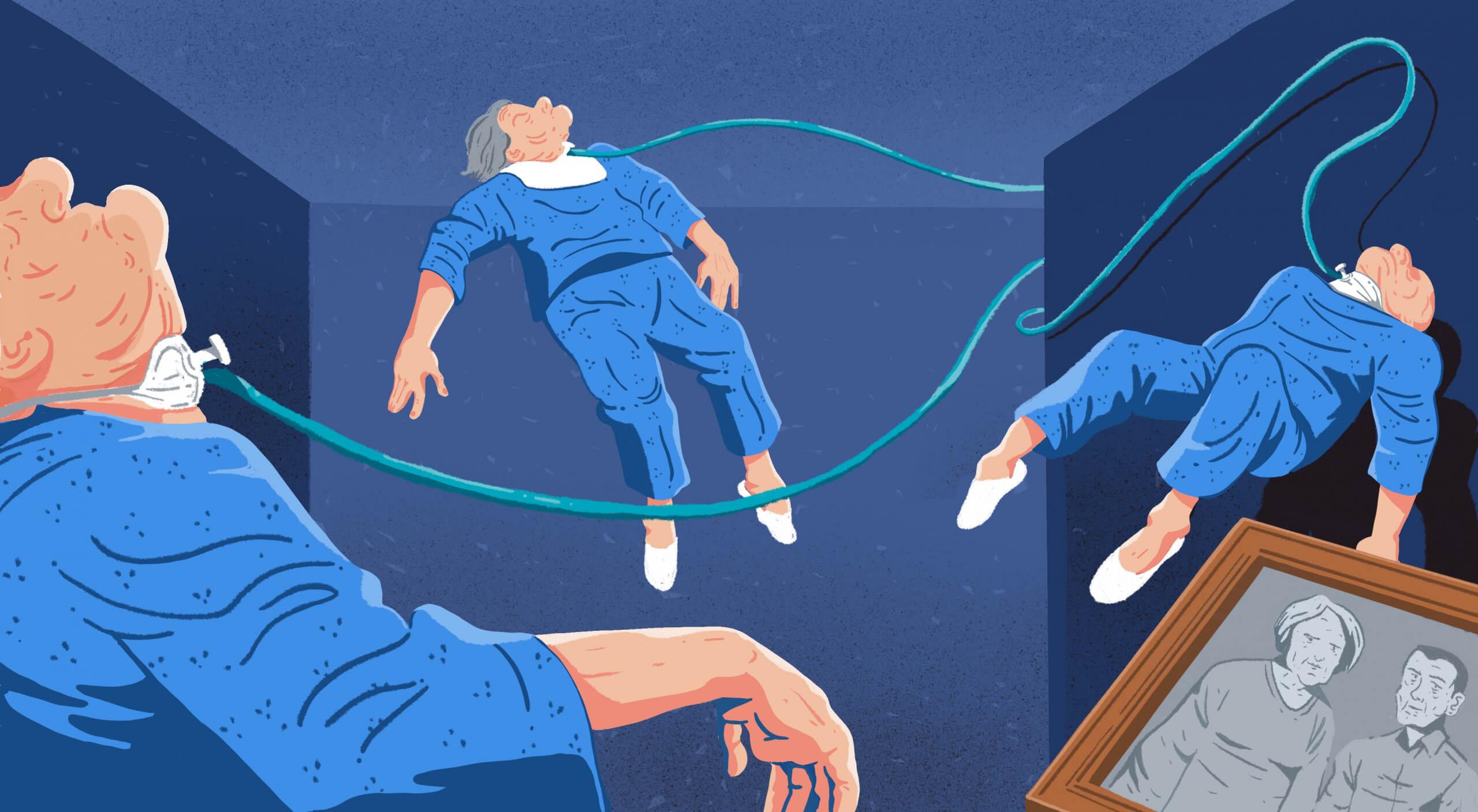 Stumm und ausgeliefert: Das Milliardengeschäft mit Beatmungspatienten