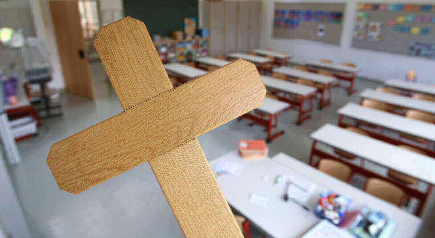 """Es stimmt nicht, dass es an Stuttgarter Schulen ein """"Grüß Gott""""-Verbot gibt (Quelle: Picture Alliance / DPA / Karl-Josef Hildenbrand)"""