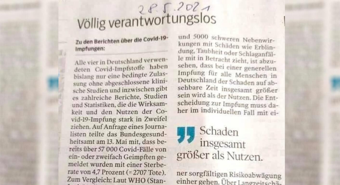 Collage_Zeitungsausschnitt