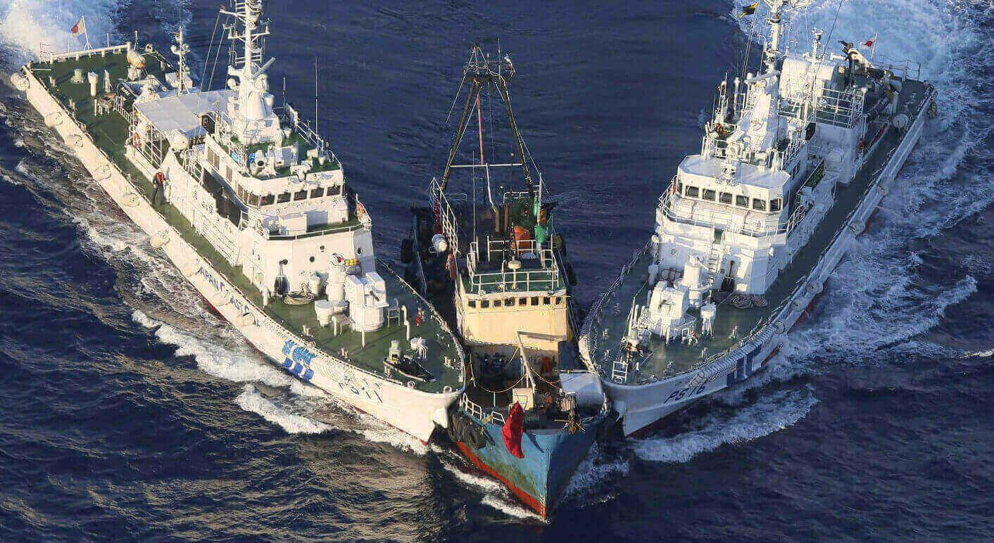 Konflikt zwischen Japan und China vor den Senkaku-Inseln