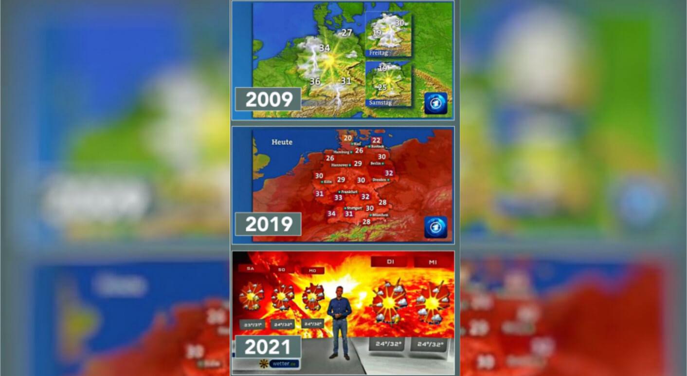 collage-wetterkarte