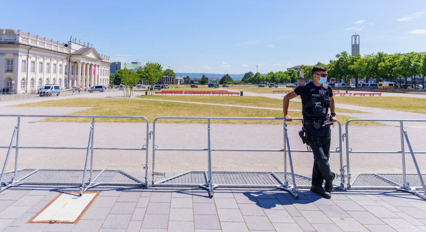 Verbot von Querdenker-Demo in Kassel