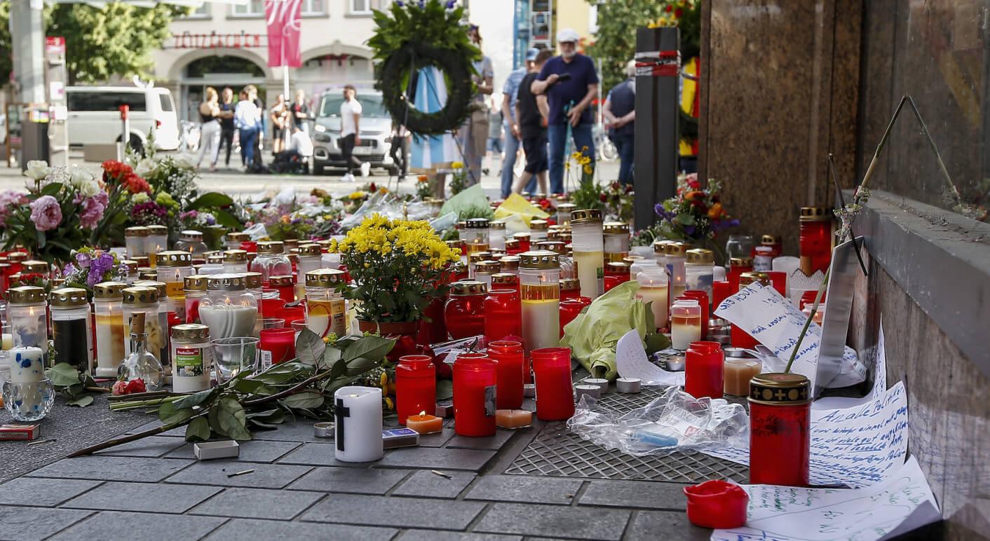 Gedenken an die Opfer des Messerattentats